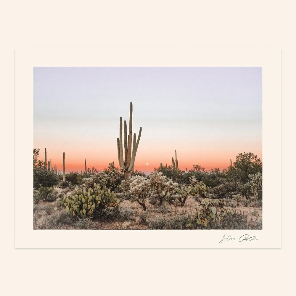 Sonoran Sunrise Landscape Digital Print The Joshua Tree House Sunrise Landscape Sunrise Landscape