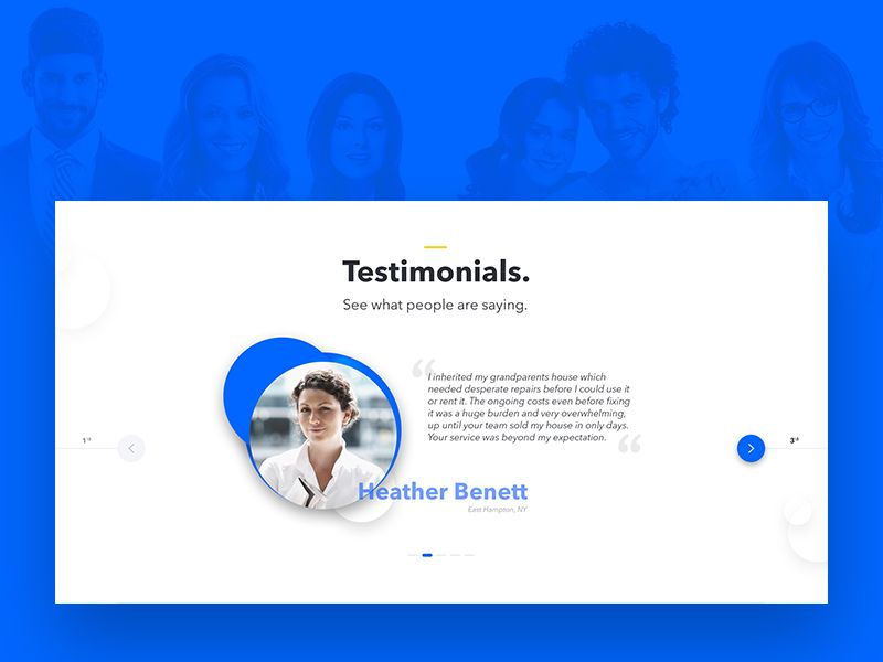 Testimonials Ux Testimonials Web Design Testimonials Design Web Design Tips