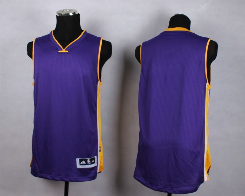 7ce1cfd92 NBA Los Angeles Lakers Blank purple New Jersey  22