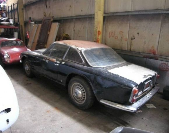 1963 Maserati Sebring Series 1 3500 GT Barn FInd Project For Sale Rear