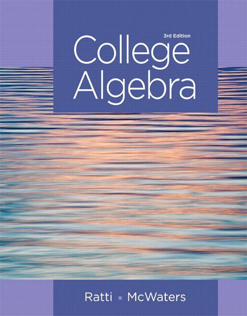 college algebra 3rd edition ratti solutions manual test banks rh pinterest com solutions manual and test bank for textbooks solutions manual for books