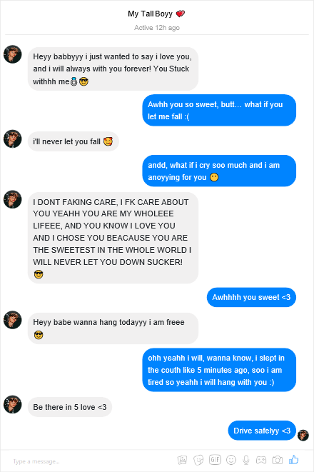 Messages chat facebook fake Fake Chat