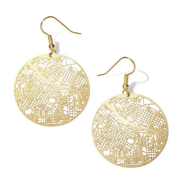 Aminimal Minneapolis Earrings - Gold Plated