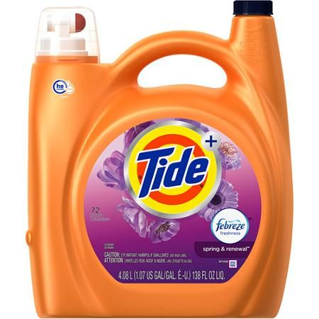 Tide He Turbo Clean Plus Febreze Freshness Spring And Renewal