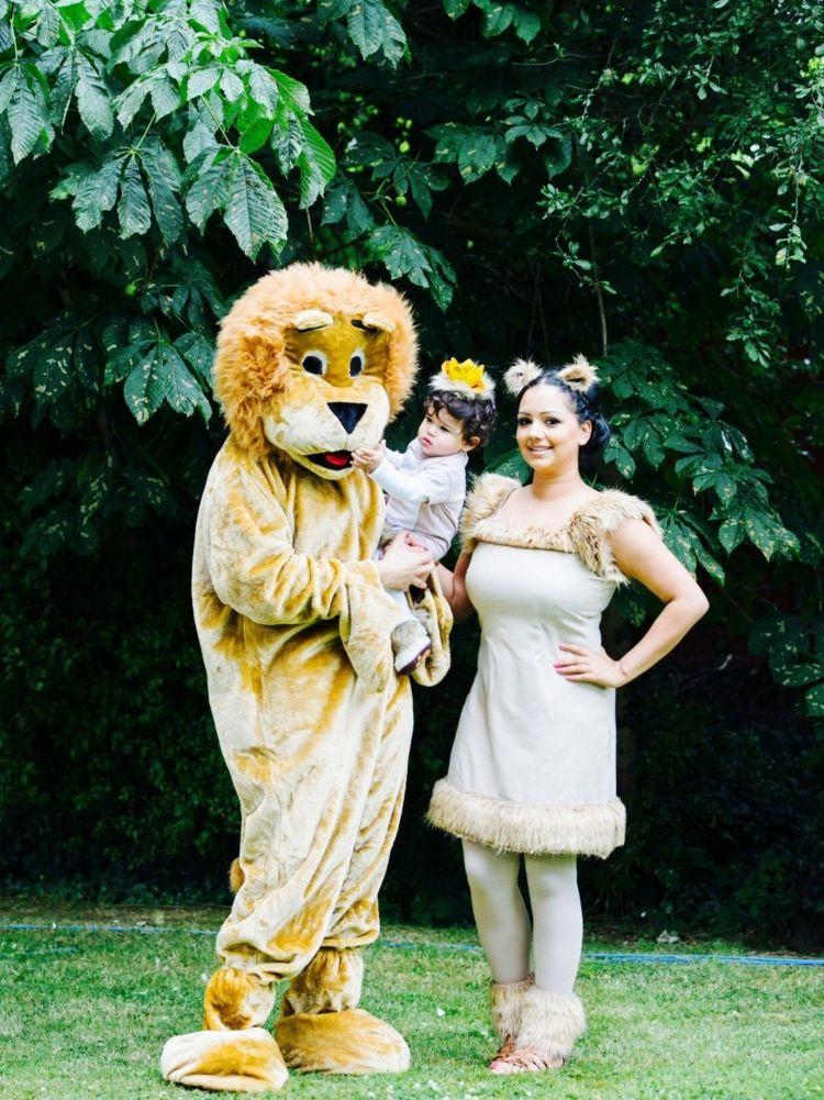 Dschungel Kostum Zum Fasching Tolle Ideen Fur Kinder Und