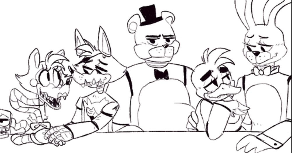 Foxy X Mangles And Bonnie X Chcia Then There S Freddy Omg