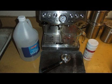 How To Clean A Breville Espresso Machine Clean It Breville Espresso Machine Breville Espresso Und Espresso Machine Cleaner