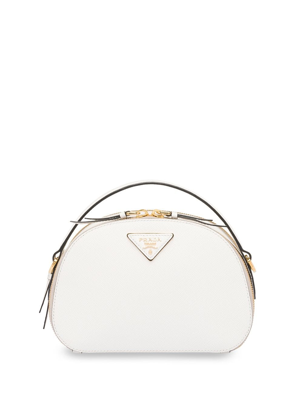 efb1ac4bc Prada Odette Saffiano leather bag - White in 2019 | Products ...