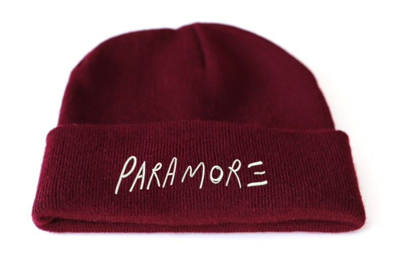 6360d6c6c1c Paramore Beanie Hat Hayley Williams Still Into You Band Music Pop  Streetwear B85 from frontcoverthreads on eBay