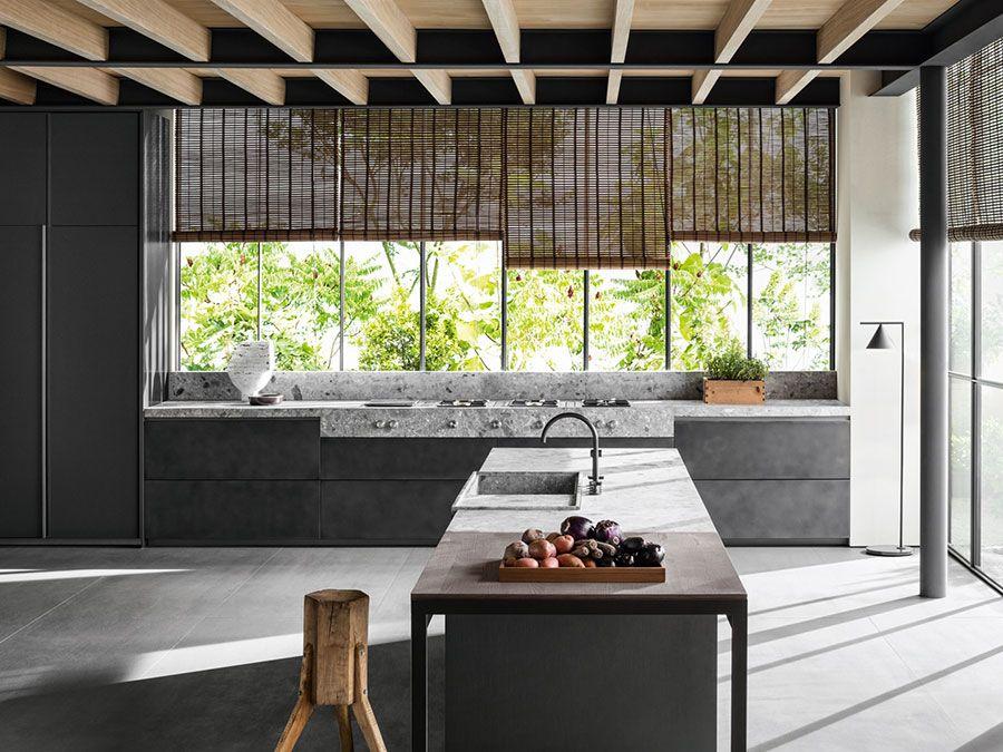 Cucine moderne grigie modelli delle migliori marche kitchens