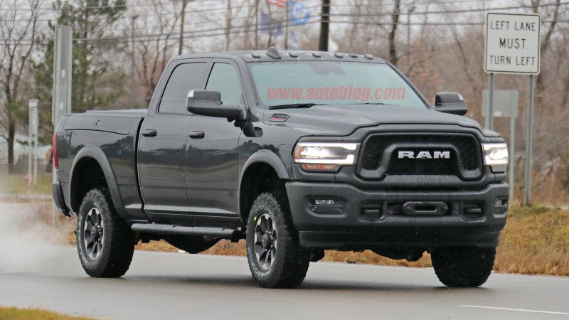 2020 Ram 2500 Power Wagon Spy Shots Ram Power Wagon Power Wagon Dodge Wagon