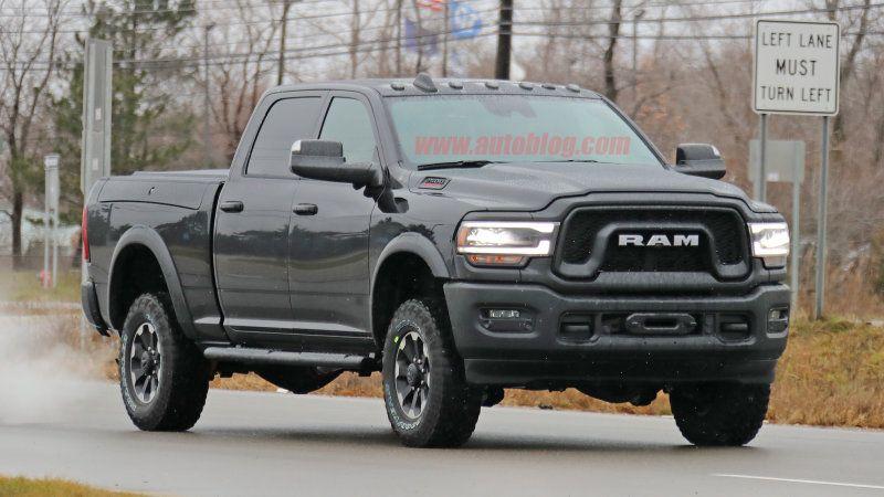 2020 Ram 2500 Power Wagon Spy Shots With Images Ram Power
