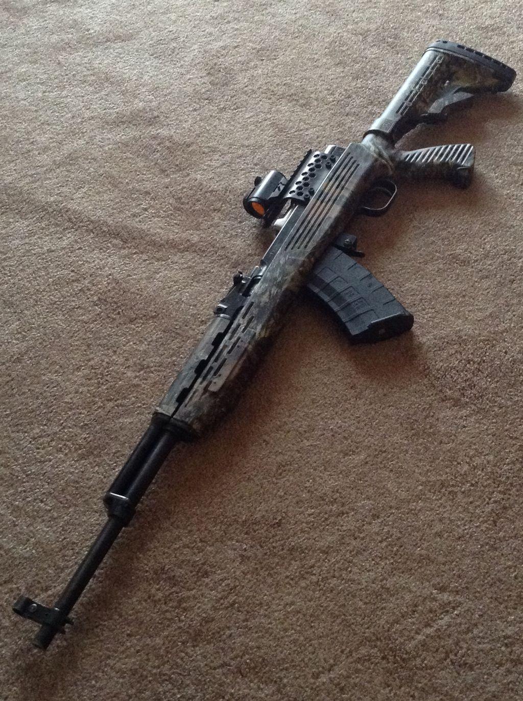 Offertt tactical sks paratrooper for your sbr ar guns