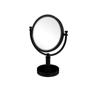 Darby Home Co Gober Table Mirror Finish Oil Rubbed Bronze