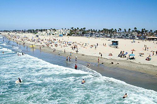 Huntington Beach, California--my childhood!