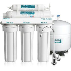 APEC - Top Tier - Built in USA - Ultra Safe, Premium 5-Stage Reverse Osmosis Drinking Water Filter System  Reviews: http://www.reverseosmosisguides.com/best-5-stage-reverse-osmosis-system-reviews/  APEC 5-stage water filter system is a premium water filtration mechanism that provides unlimited and high quality clean water for homes and offices. With this system, you will be able to save money andavoid the stress of buying bottled water anytime you are tasty.