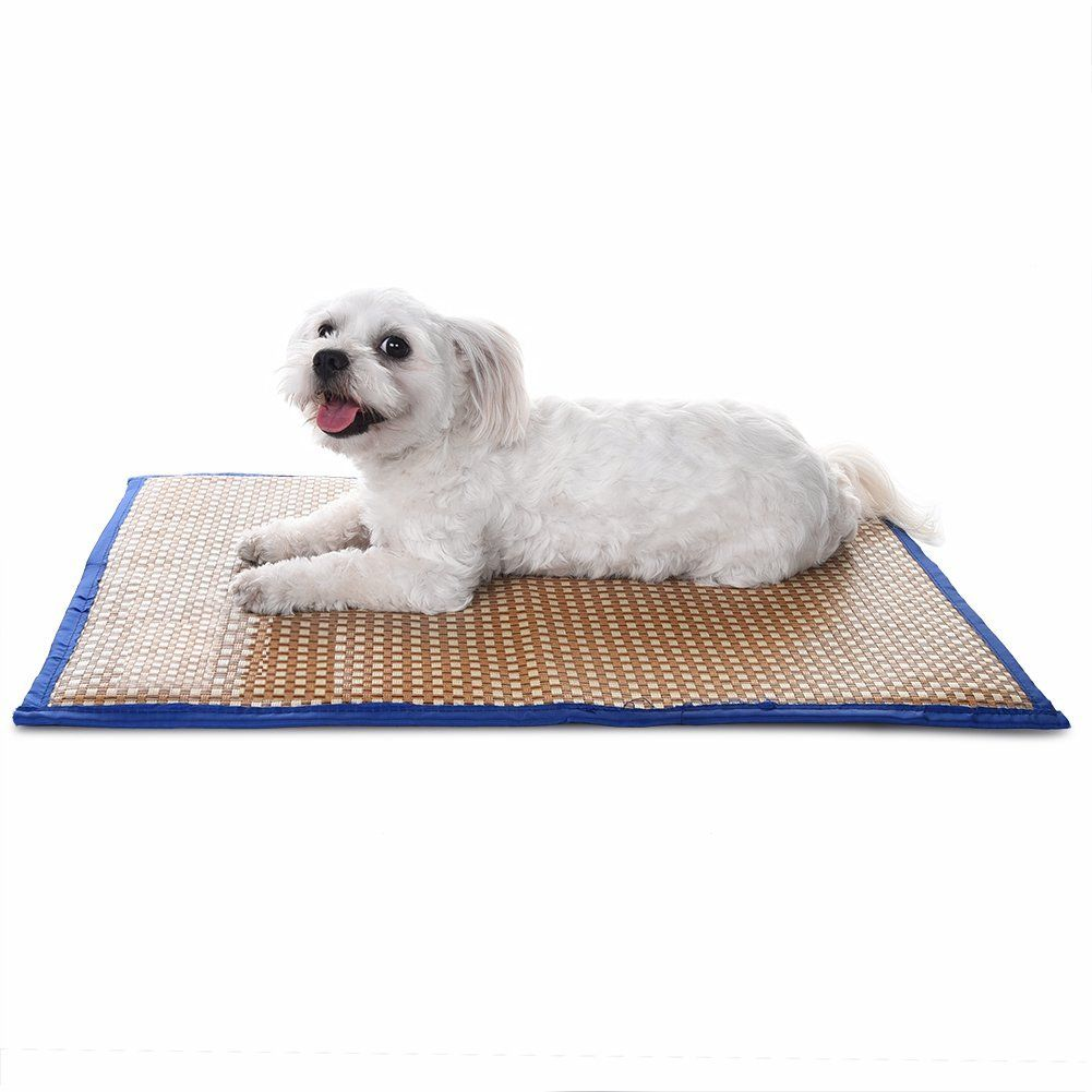 Pet Cooling Mat Puppy Comfort Bed Self Cooling Pad Pet Cooler Cold Bed For Different Sizes Dogs And Cats S M L By Foert Pet Cooling Mat Pets Pet Pads