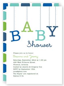 Couples baby shower invitation folded words baby shower couples baby shower invitation folded words filmwisefo
