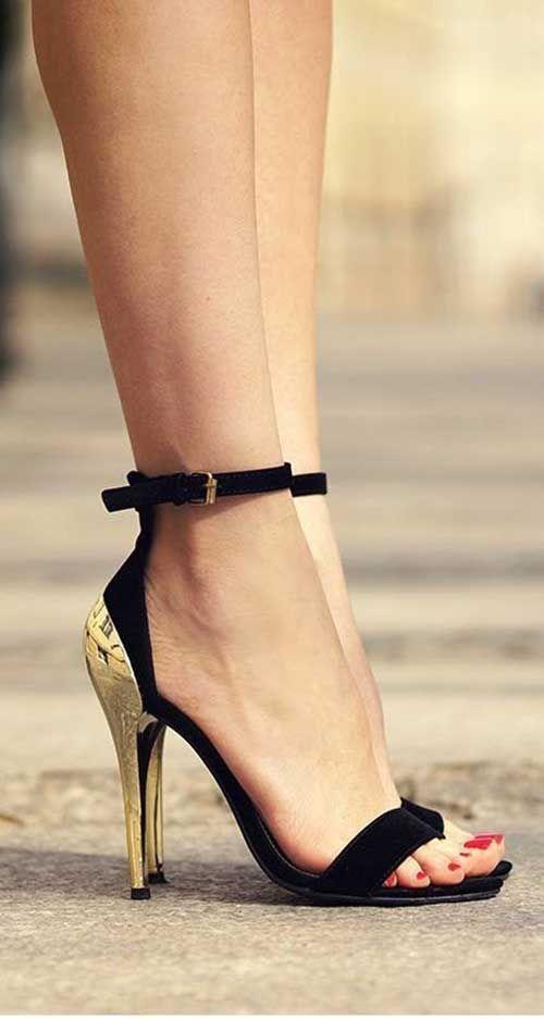 Nisayaman Adli Kullanicinin Ayakkabi Canta Panosundaki Pin Topuklular Topuklu Sandalet Topuklu Ayakkabilar