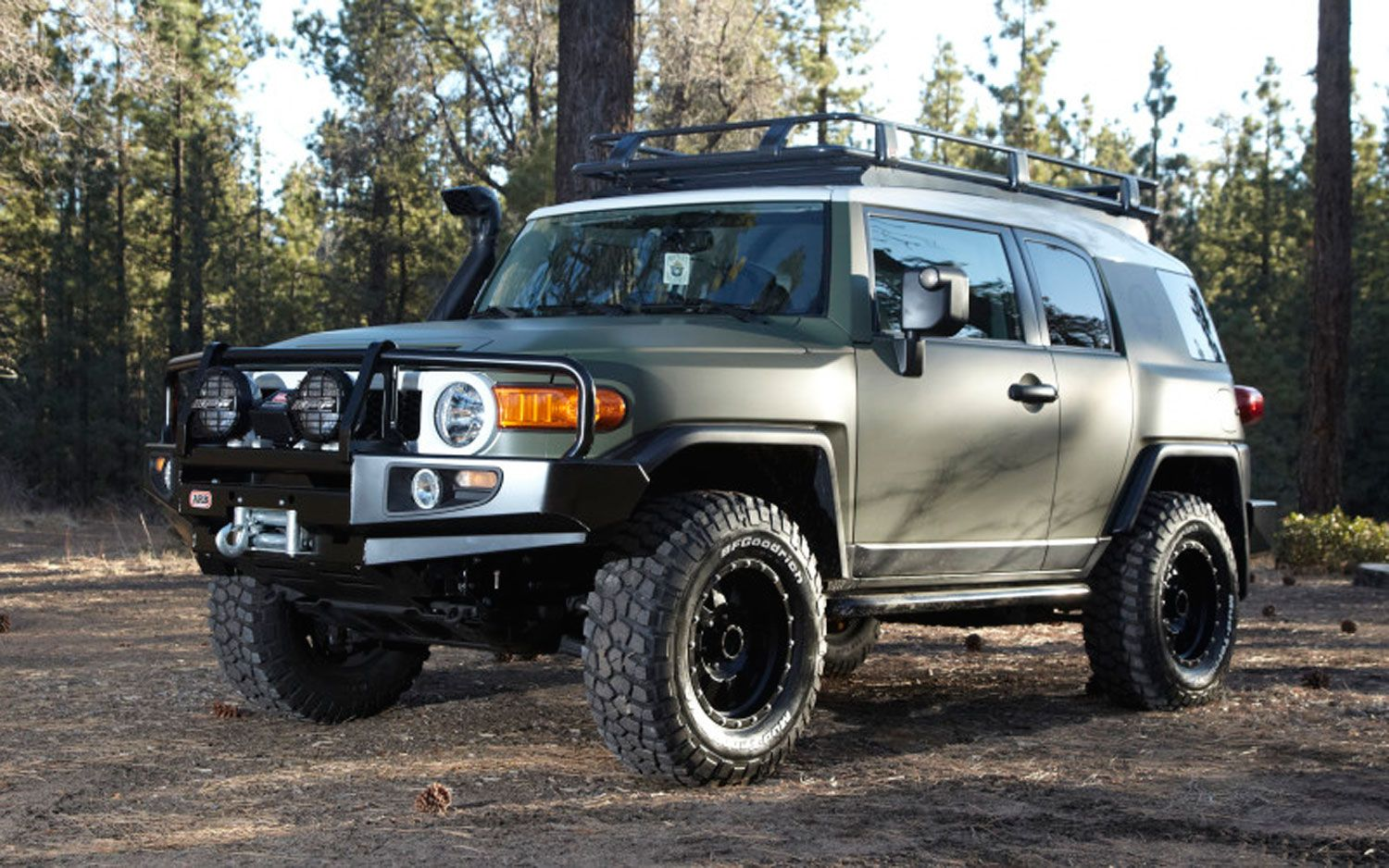 The new 2012 toyota fj cruiser is one of the off road beasts this year