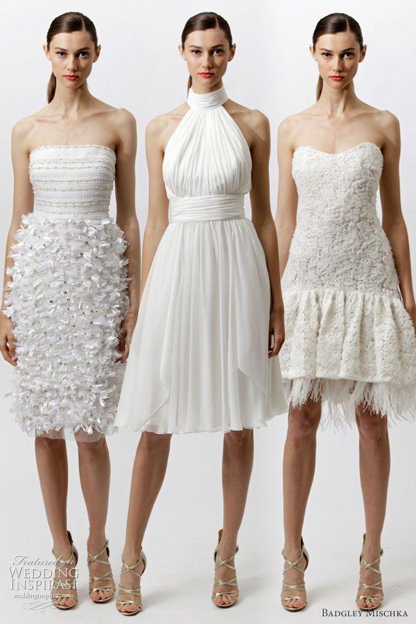 5739a8590bd3 Badgley Mischka Resort 2012 Dresses | * Short & Tea Length Wedding ...