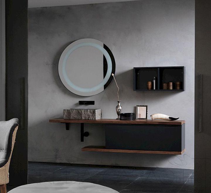 Mobile-arredo-bagno-top-sospeso-legno-lavabo-pietra.jpg (720×658 ...