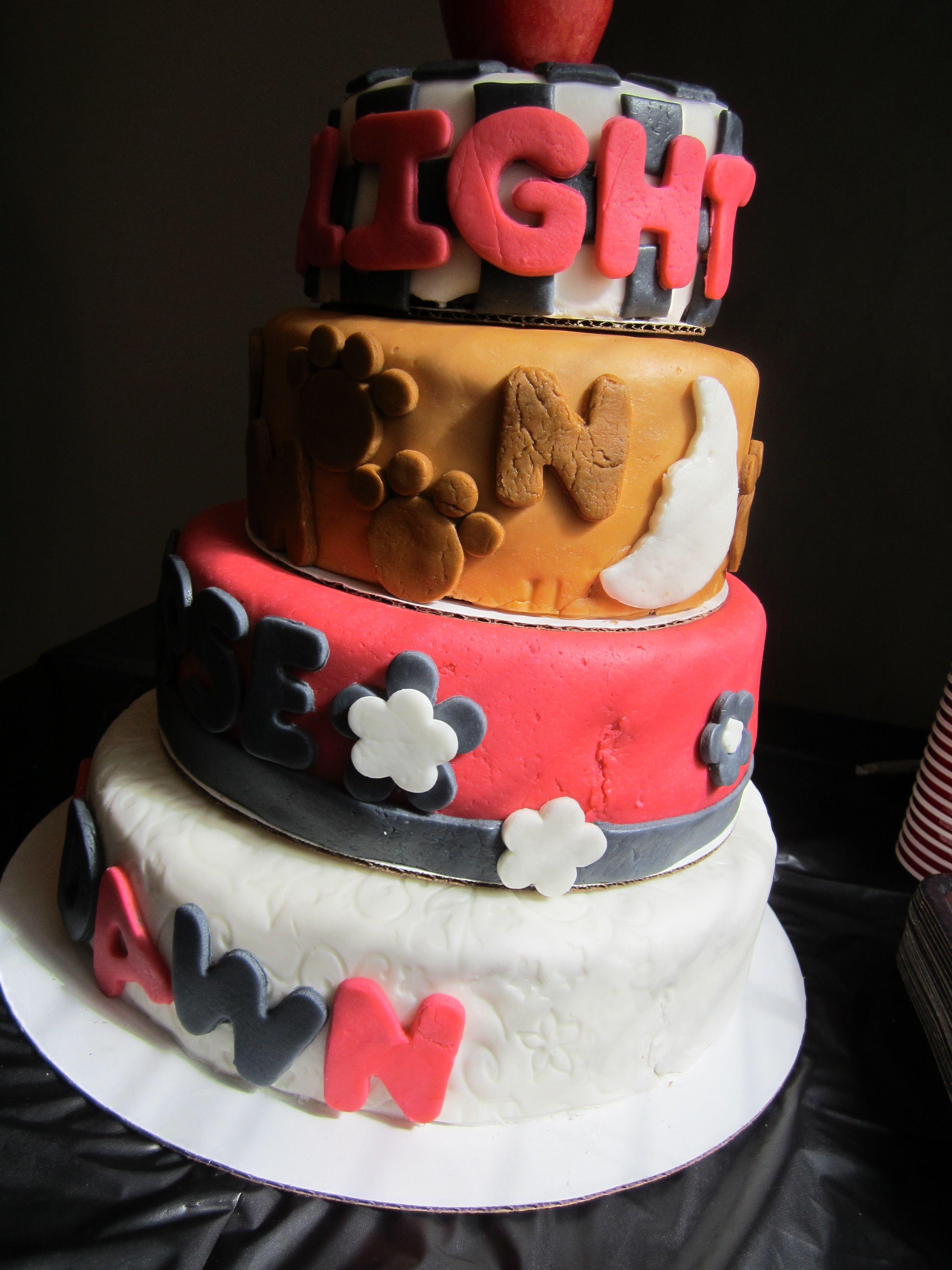 Twilight Saga Cake Side