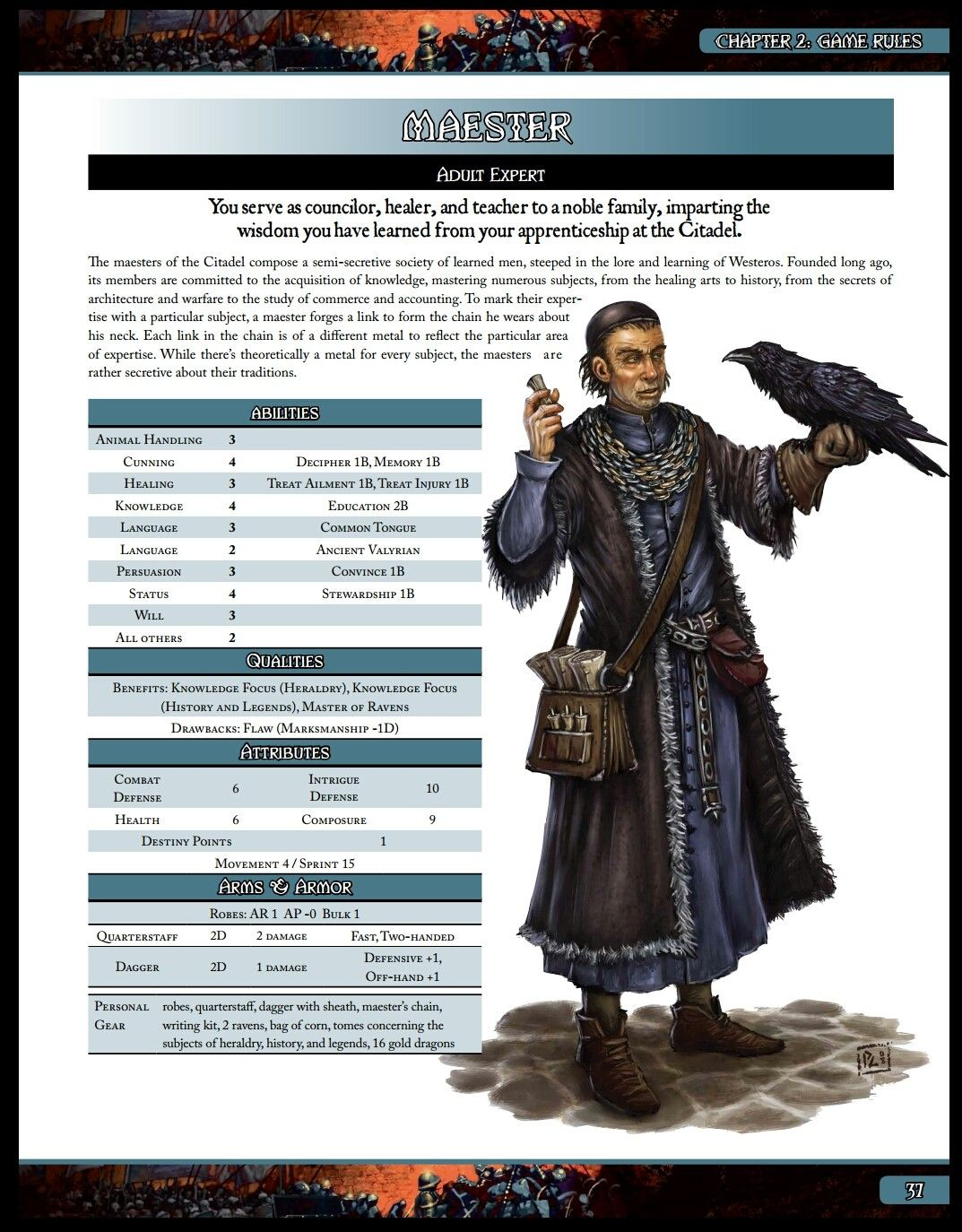Maester (A Song of Ice and Fire Roleplaying) Roleplay