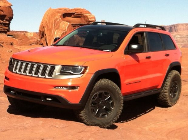 Will This 2014 Jeep Grand Cherokee Trailhawk Ii Be Built Tflcar Saw It A Easter Jeep Grand Cherokee Grand Cherokee Trailhawk 2014 Jeep Grand Cherokee