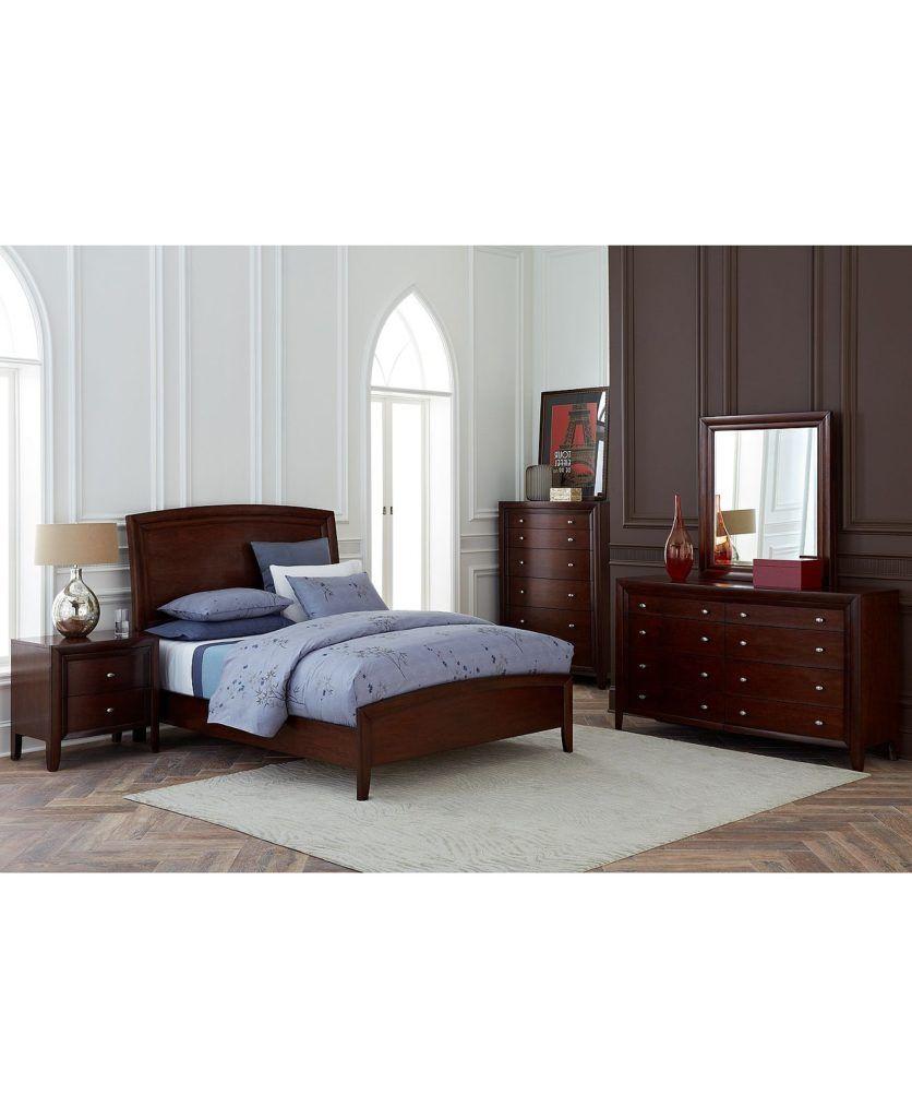 Gentil Jenny Mustard Leather Bedroom Set