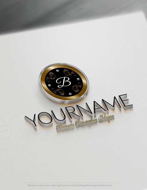 Free Logo Maker Luxurious Frame Logo Design Free Logo