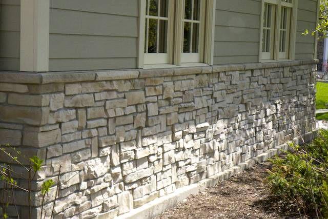 Stone Veneer Hardie Board 02 Exterior Stone House Exterior