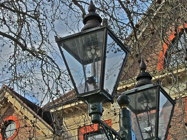 Horsham Gas Lamps 52 365 Lamp Project Street