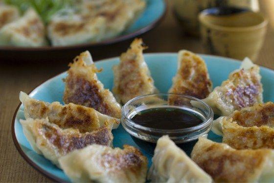 Gyoza, Empanadillas japonesas, cocina japonesa