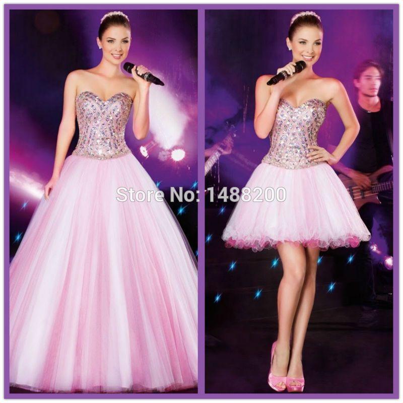 2015 Barato de la Alta Calidad de Cristal Del Amor Del vestido de ...