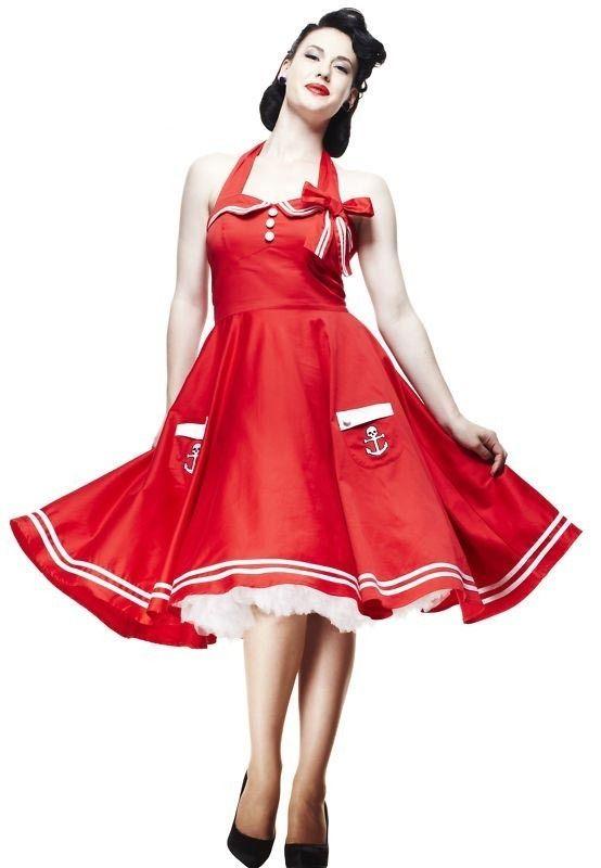 fifties Hell Bunnie's dress!