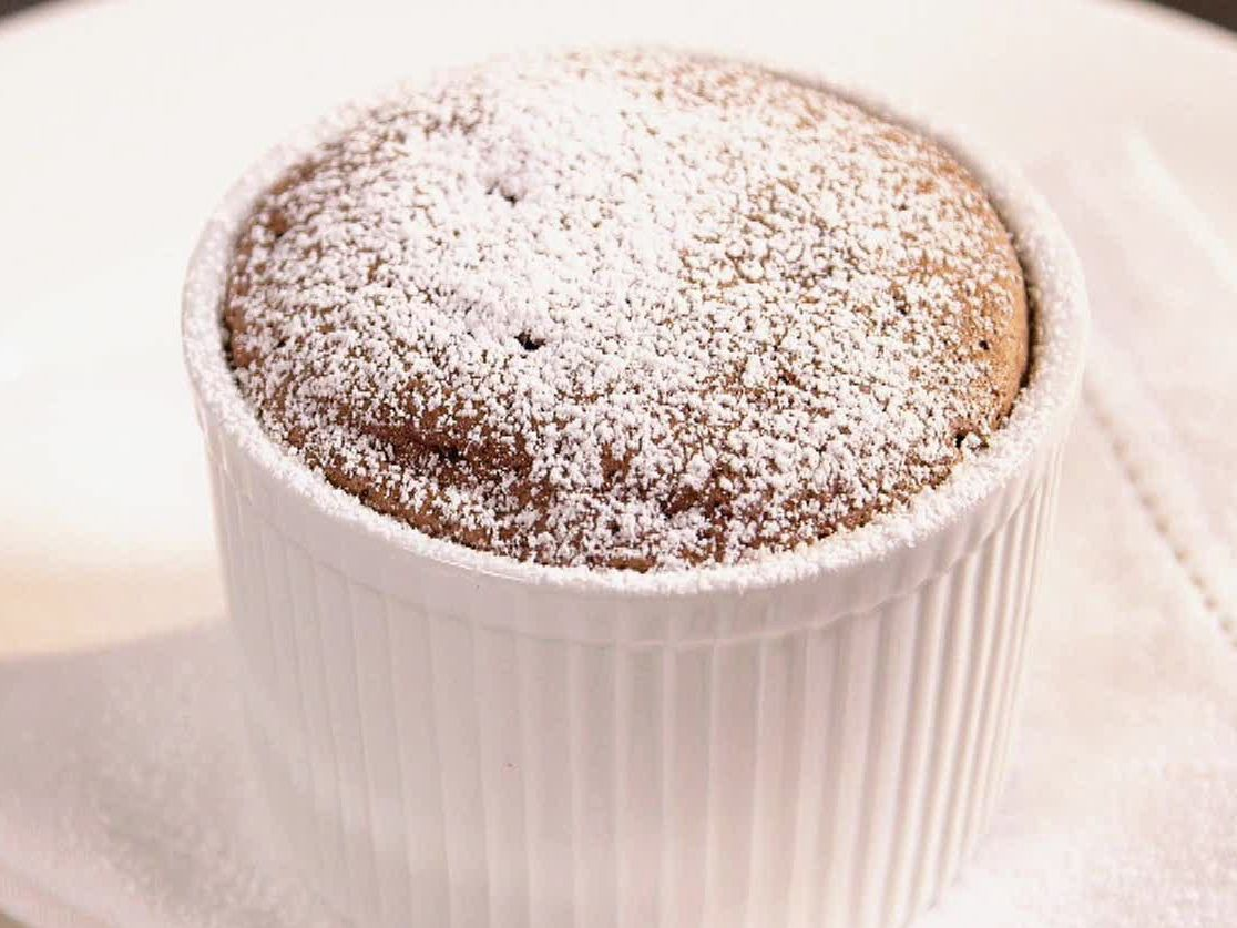 Chocolate Souffle recipe from Geoffrey Zakarian via Food Network ...