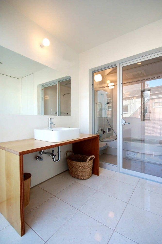 House D Takeshi Hamada 和風の家の設計 洗面所 リフォーム 洗面