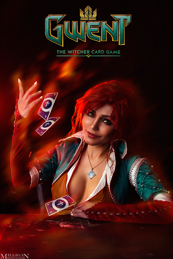 The Witcher - GWENT - Triss by MilliganVick on DeviantArt