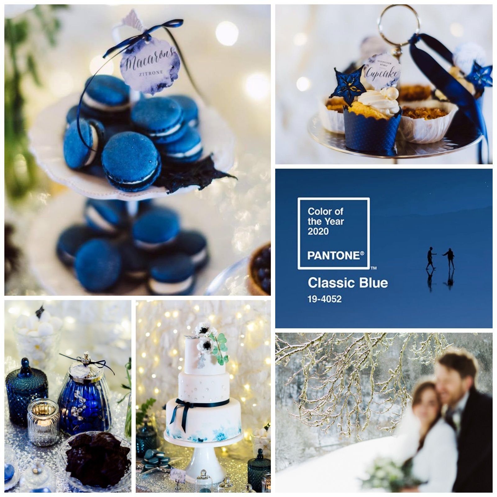 Pantone Color Of The Year 2020 Classic Blue Hochzeitstorte Hochzeit Farbe Des Jahres