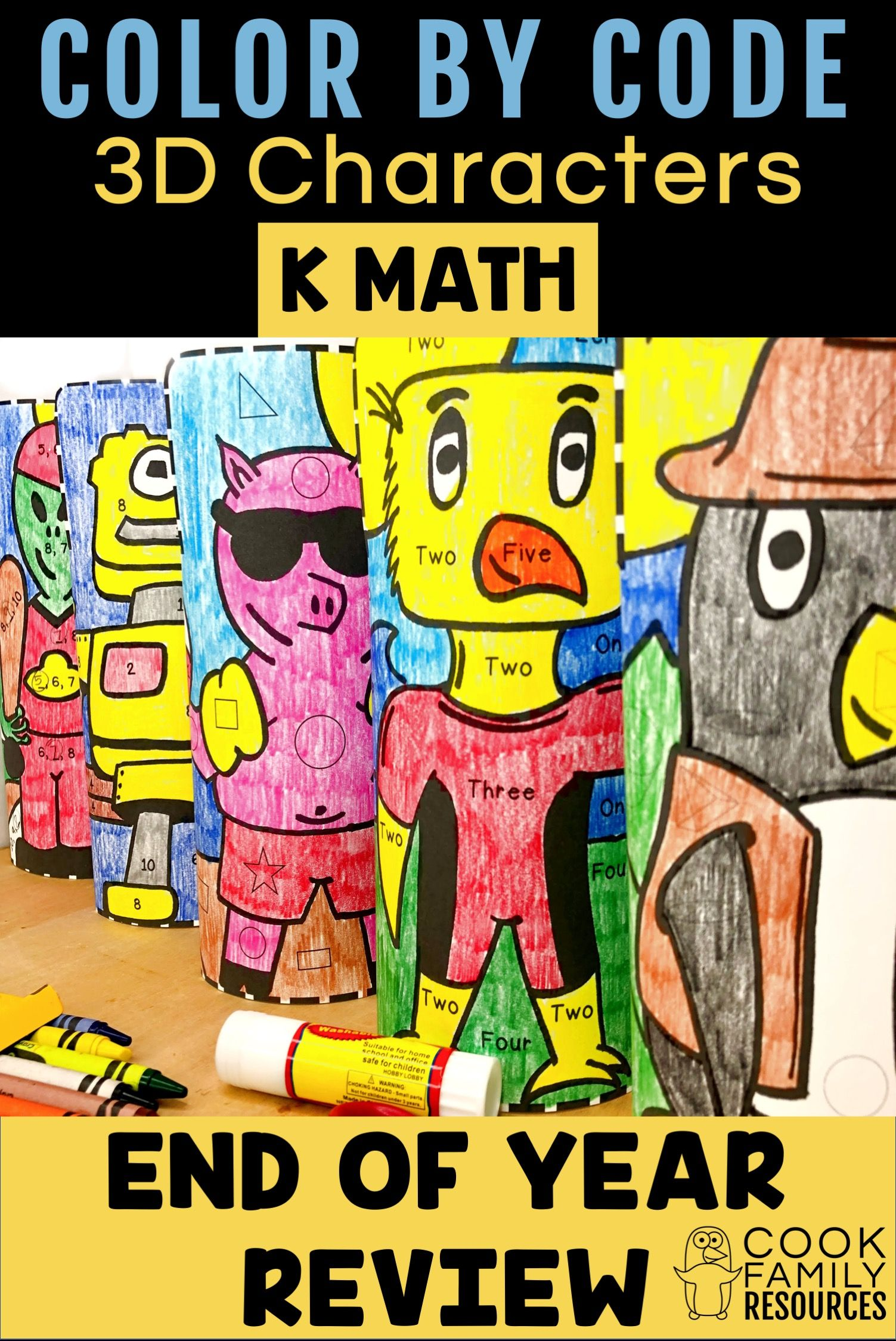 Kindergarten Math End Of Year Review