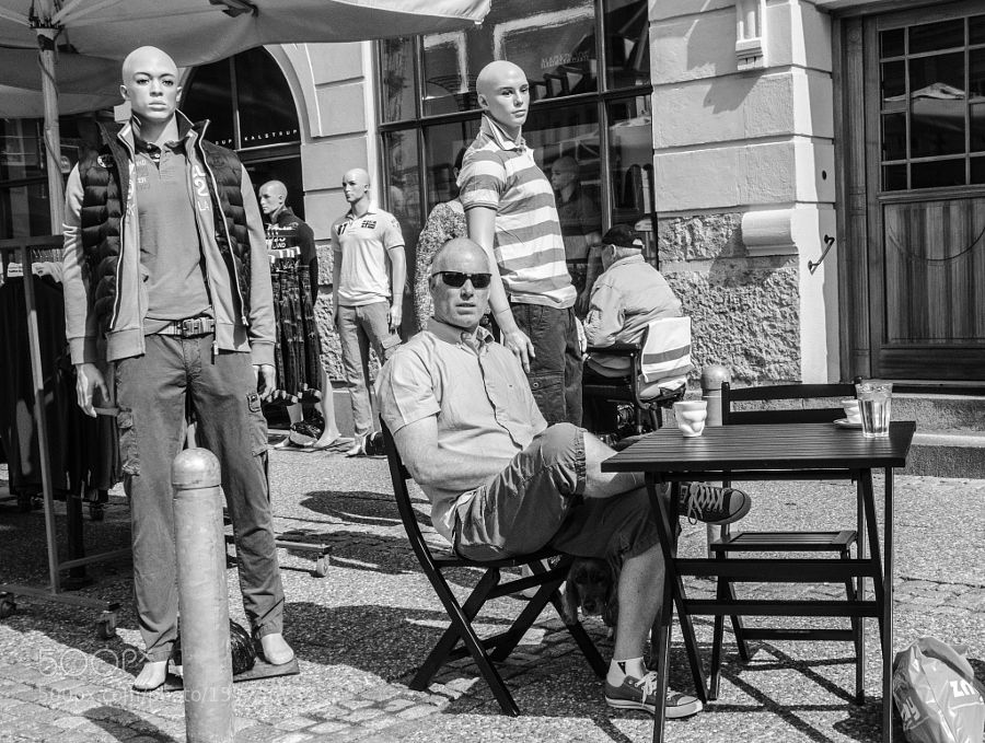 Bald by danishphoto Street Photography #InfluentialLime