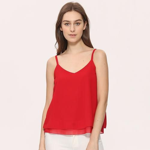 a9b6b1047be1c6 Chiffon Tank Top Women 2017 New Summer Sleeveless Shirt Sexy V-neck Cami  Loose Casual Female Tops Plus Size Vest Ladies Clothing