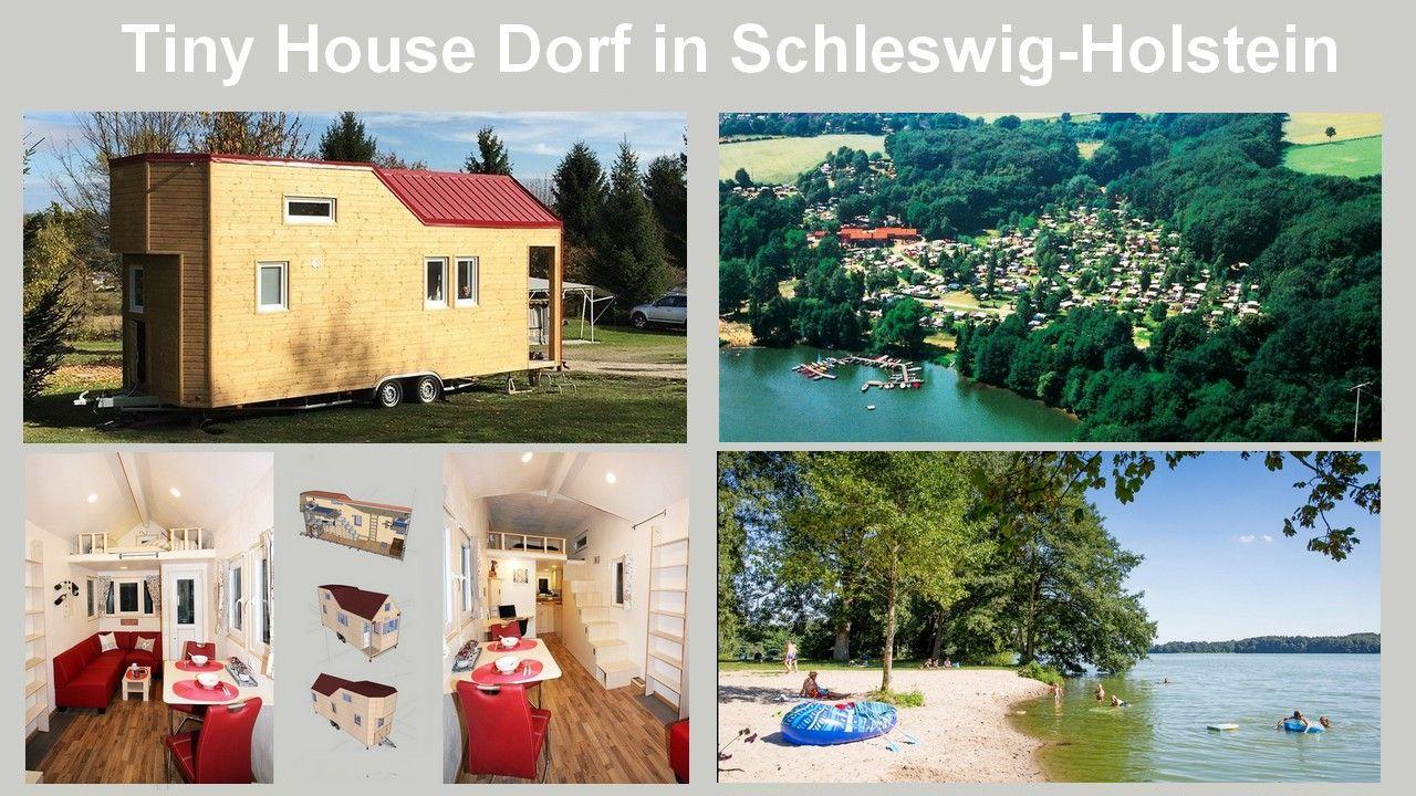 Minihaus im Tiny House Dorf am See im Herzen von Schleswig