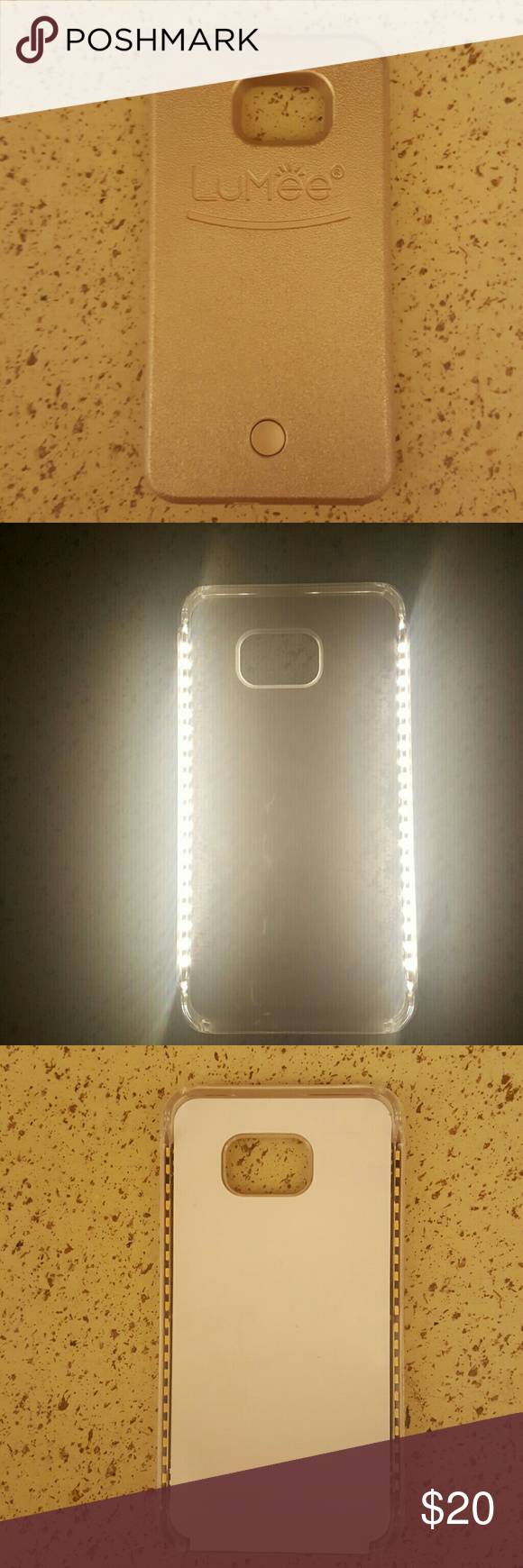 reputable site e5a1f b281b Samsung Note 5 - LuMee Brand New selfie light case with styles and ...
