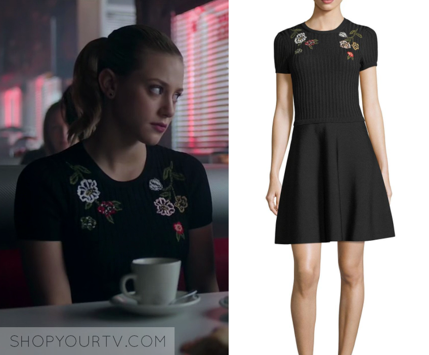 Riverdale Season 2 Episode 19 Betty S Floral Embroidered Dress