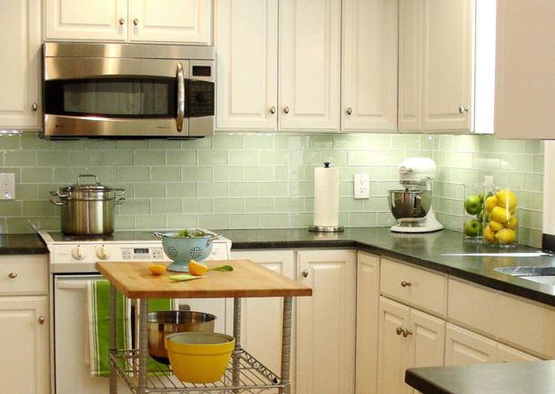 Benjamin Moore Misted Green Concepts And Colorways Kitchen