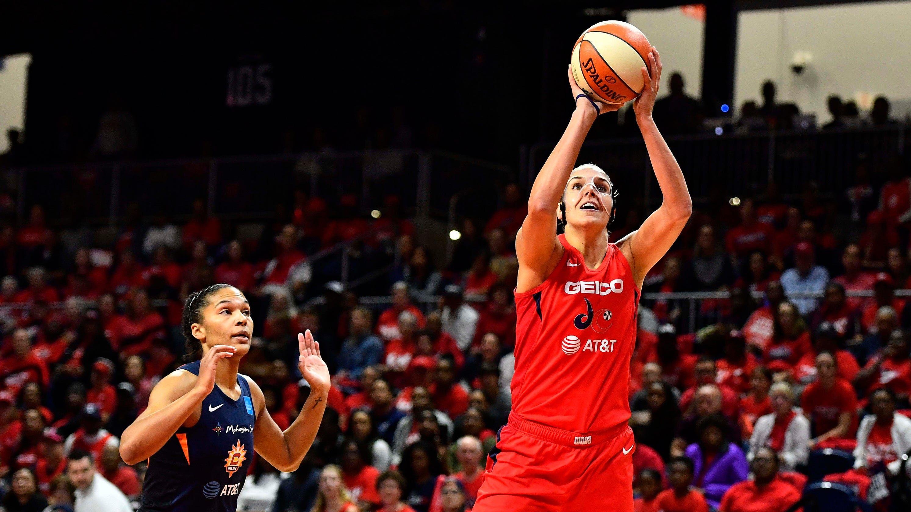 Washington Mystics beat Connecticut Sun to win first WNBA