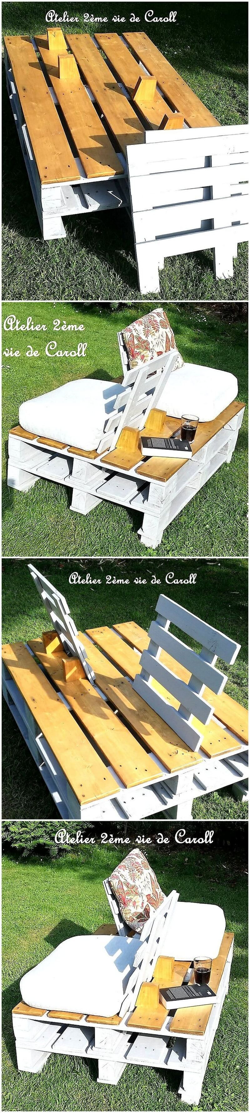 Latest DIY Ideas to Recycle Used Wooden Pallets #oldpalletsforcrafting