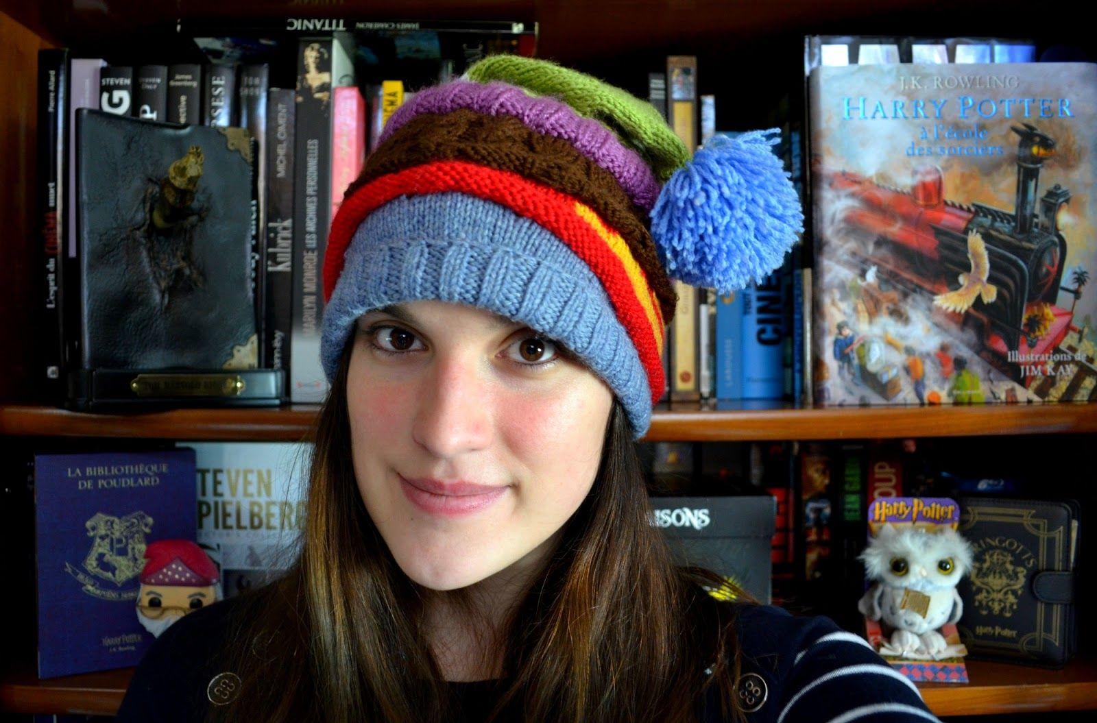 Le Journal de Lalu , bonnet elf cap harry potter tricot